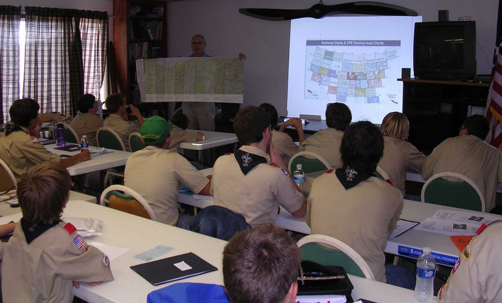 BSA Aviation Merit Badge Program