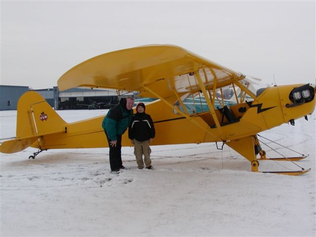 EAA Chapter 50 Ski plane Fly In